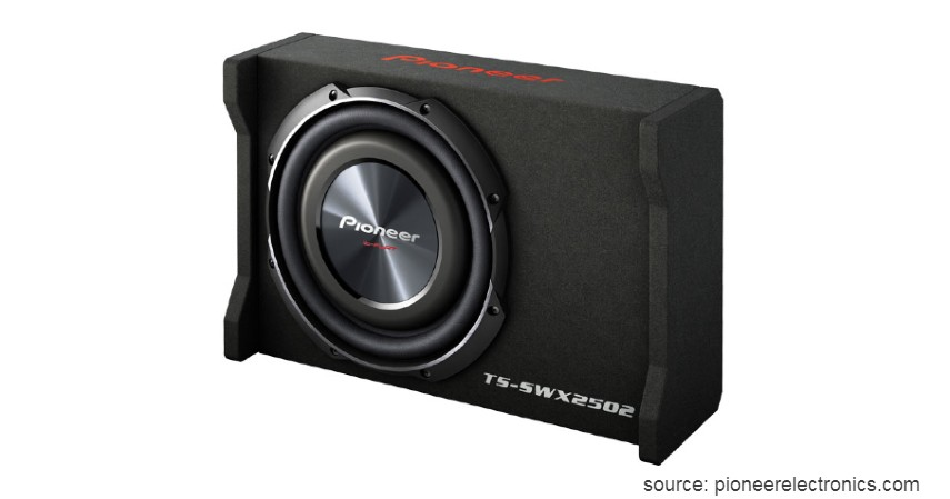 Pioneer TSSWX2502 - Merk Subwoofer Mobil Terbaik Harga di Bawah Rp3 Juta