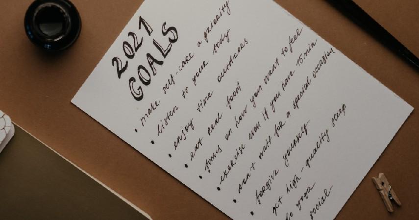 Sesuaikan dengan Kebutuhan - 5 Cara Menyusun Resolusi Tahun Baru Agar Tercapai dan Anti Gagal