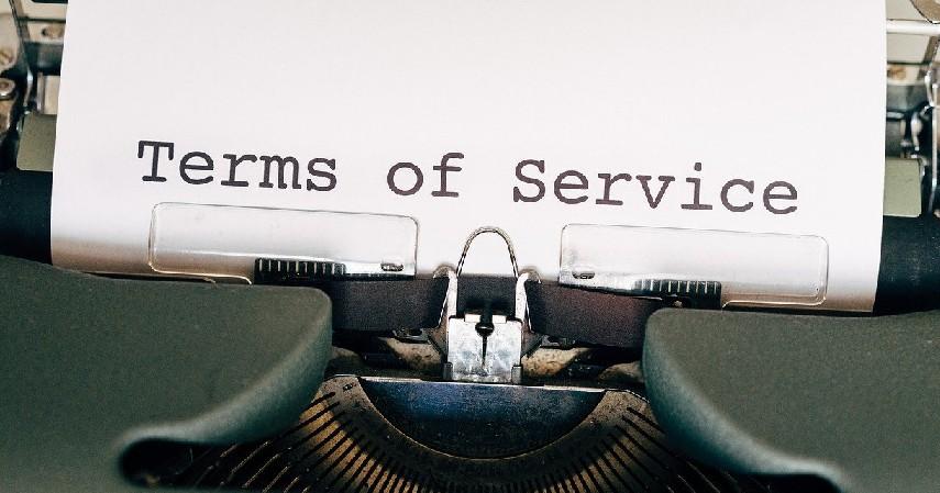 Syarat dan Ketentuan - Cara Buat Giveaway Bisnis Online yang Menarik