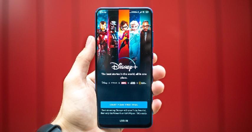 Tampilan Layar - Disney Plus Hotstar atau Netflix Layanan Streaming Paling Oke