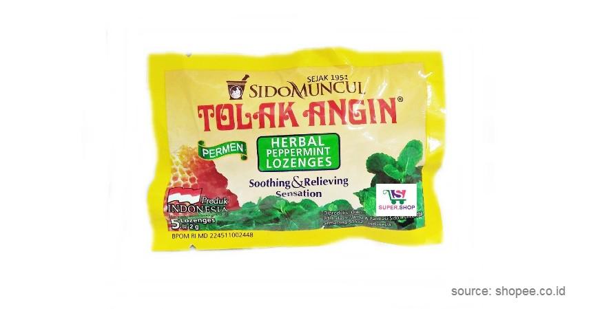 Tolak Angin Herbal Peppermint Lozenges - 9 Permen Pelega Tenggorokan Terbaik
