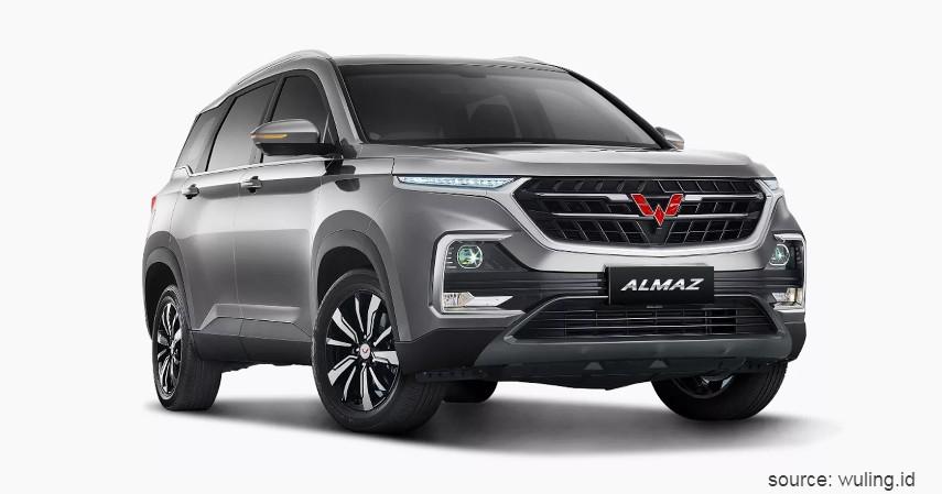 Wuling Almaz - Daftar Mobil Bermesin Turbo Harga Murah Rp200 Juta-an