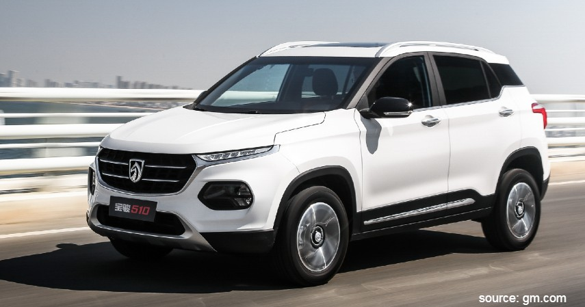 Wuling Baojun 510 - Daftar Mobil SUV Murah Asal China Rp200 Jutaan