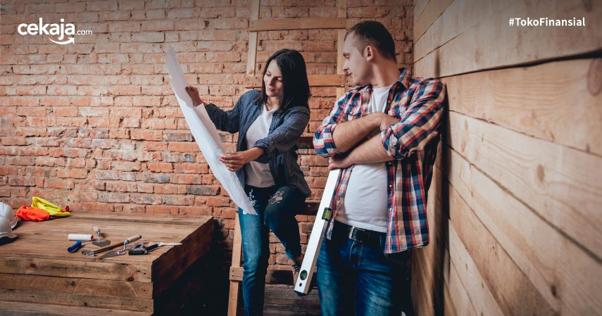 Pinjaman KTA untuk Renovasi Rumah, Yuk Benahi Sebelum Semakin Parah!