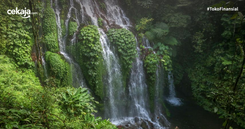 9 Air Terjun Terindah di Indonesia, Pemandangannya Bikin Mata Melongo