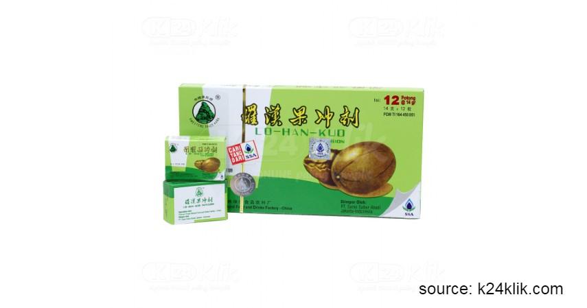 6 Obat Herbal Cina Legendaris dengan Sederet Khasiatnya - Lo Han Kuo