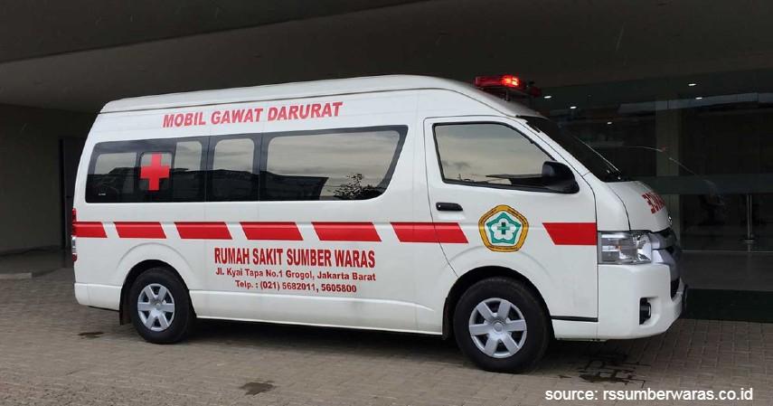 Ambulance Darurat - Jenis Ambulance di Indonesia