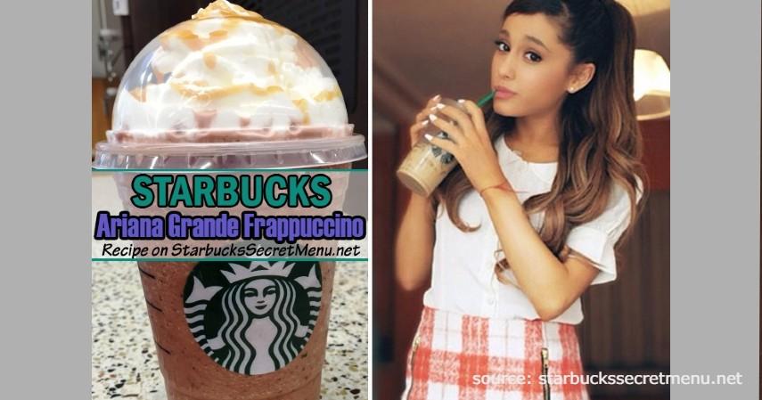 Ariana Grande Frappuccino - Rekomendasi Menu rahasia Starbucks