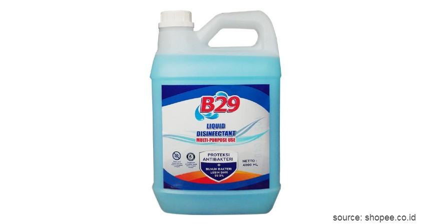 B29 Liquid Disinfectant Multi-Purpose Use - Rekomendasi Merk Disinfektan Ruangan Terbaik