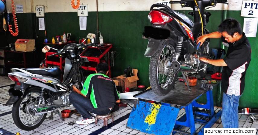 Biaya Servis Tune Up Motor Bebek Matic hingga Sport - Estimasi Biaya Servis Motor yang Terendam Banjir