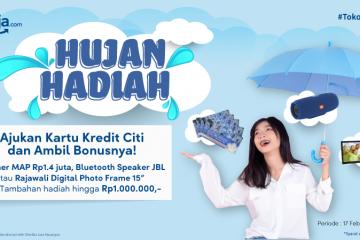 "Siap-siap Ada Promo ""Hujan Hadiah"" dari Citibank, Yuk Merapat!"