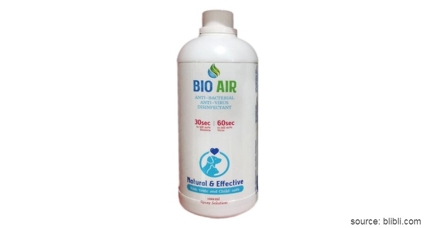 Bio Air - Rekomendasi Merk Disinfektan Ruangan Terbaik