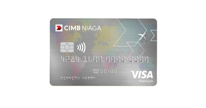 CIMB Niaga Visa Travel Card - Daftar Kartu Kredit CIMB Niaga Terbaik dengan Promo Berlimpah