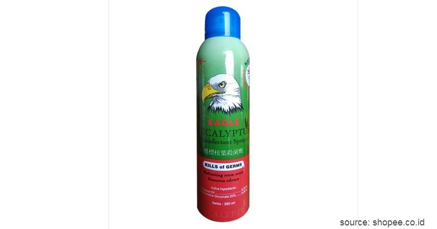 Caplang Eagle Eucalyptus Desinfectant Spray - Rekomendasi Merk Disinfektan Ruangan Terbaik