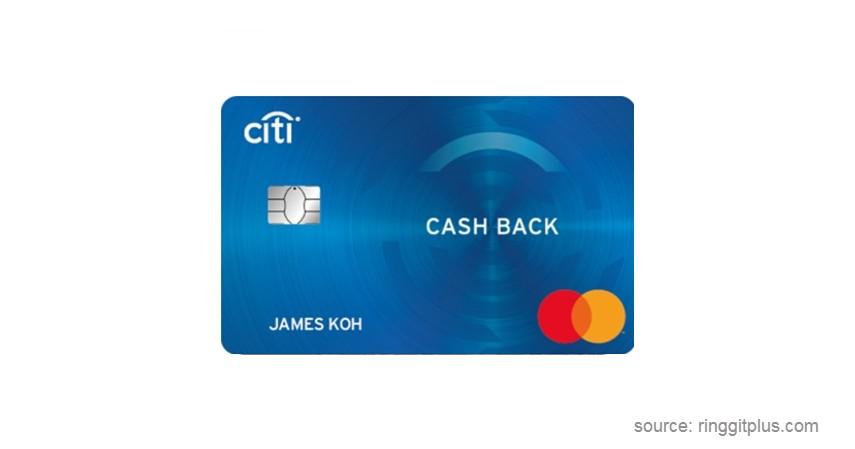 Citi Cash Back - Jenis-jenis Kartu Kredit Citibank