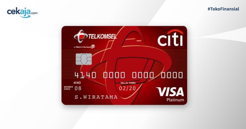 Citi Telkomsel Card - Kartu Kredit Terbaik untuk Mahasiswa dan Tips Mendapatkannya