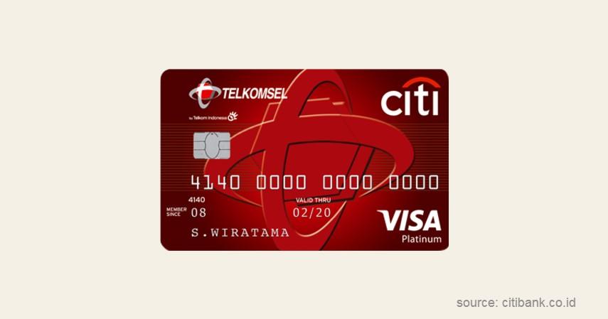 Citi Telkomsel - Jenis-jenis Kartu Kredit Citibank