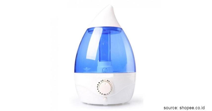 Classic Drop 6-in-1 Air Humidifier Aroma Therapy - Merk Air Humidifier Murah Terbaik