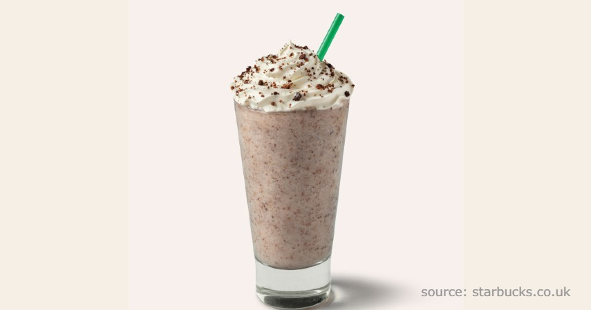 Cookies and Cream Frappuccino - Rekomendasi Menu rahasia Starbucks