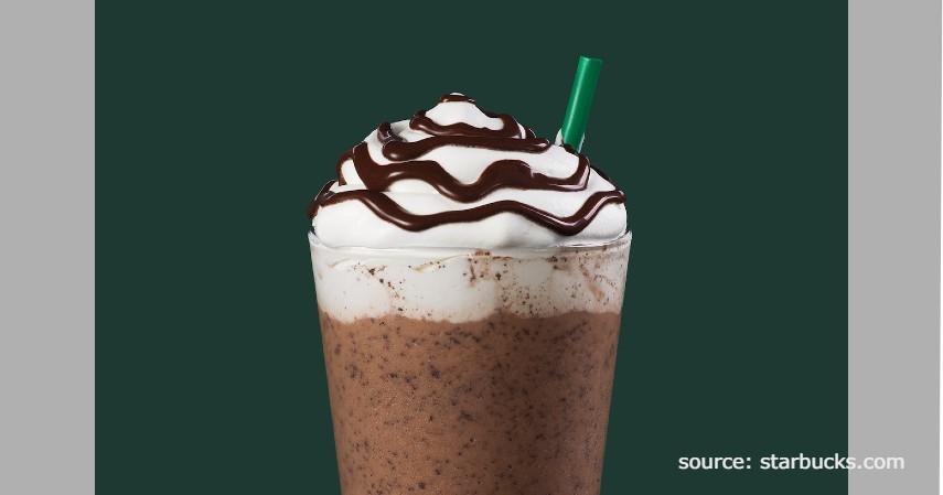 Double Chocolate Chip Frapuccino - Rekomendasi Menu rahasia Starbucks