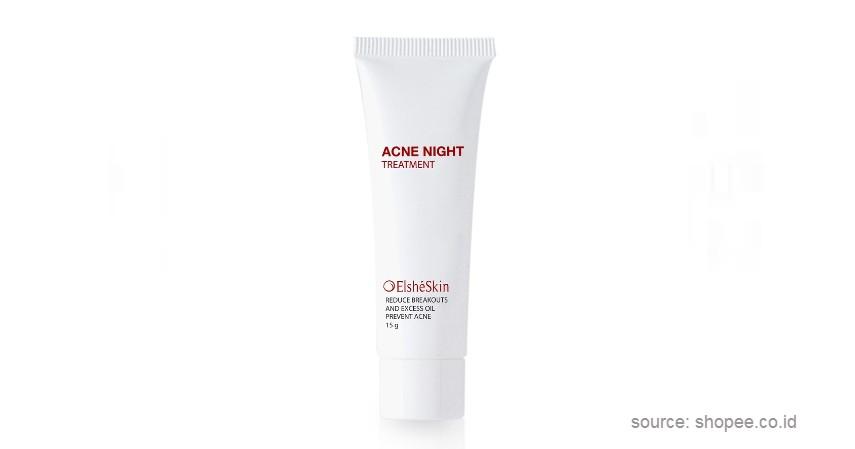 Elsheskin Acne Night - 9 Skincare Lokal Terbaik untuk Jerawat