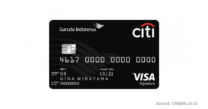 Garuda Indonesia Citi - Jenis-jenis Kartu Kredit Citibank
