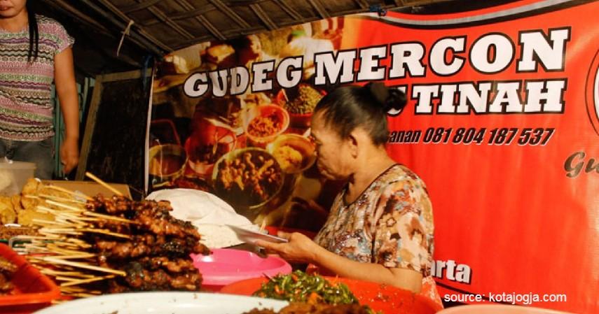 Gudeg Mercon - 5 Jenis Gudeg Yogyakarta
