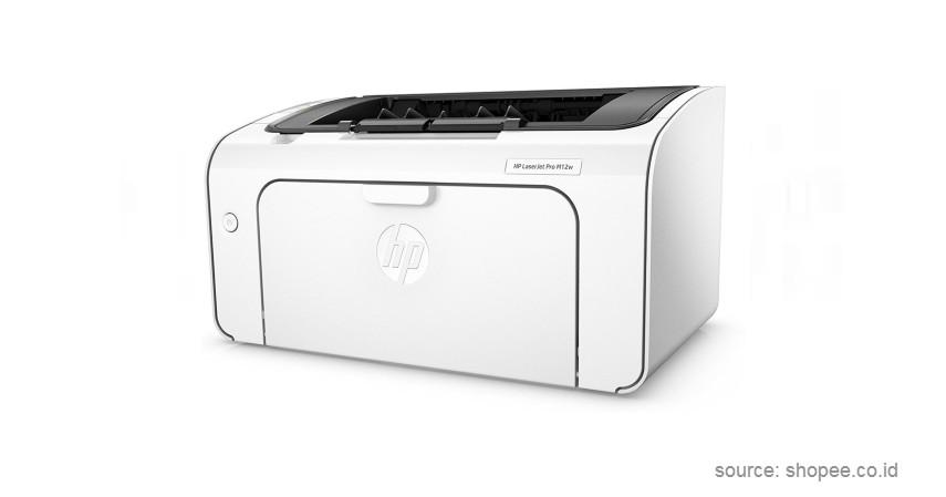 HP LaserJet Pro M12W - 8 Merk Printer Laserjet Terbaik