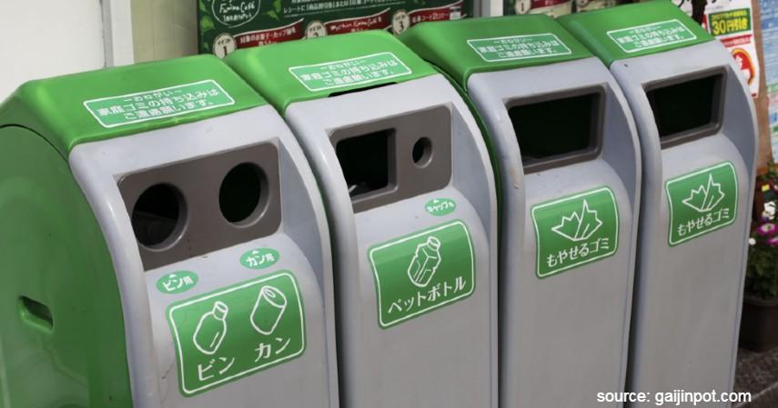 Jepang - Pengelolaan Sampah Di Negara Maju Mulai dari Asia Sampai Eropa