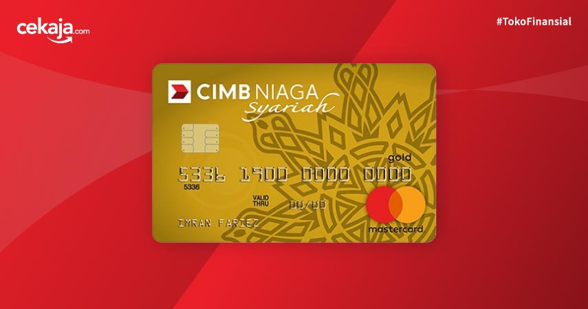 Kartu Kredit CIMB Niaga Mastercard Syariah Gold - Pilihan Kartu Kredit CIMB Niaga Syariah