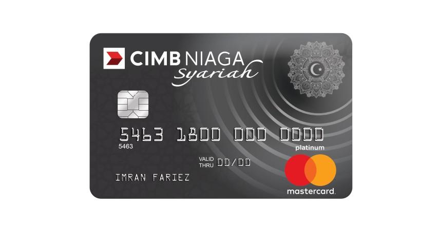 Kartu Kredit CIMB Niaga Mastercard Syariah Platinum - Pilihan Kartu Kredit CIMB Niaga Syariah