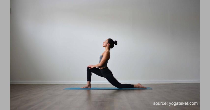Low Lunge - Gerakan Olahraga Sebelum Tidur
