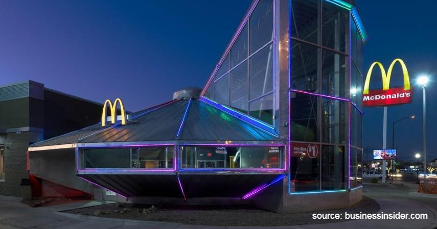 McDonald's di Roswell - 8 Restoran McDonald's Termewah di Dunia