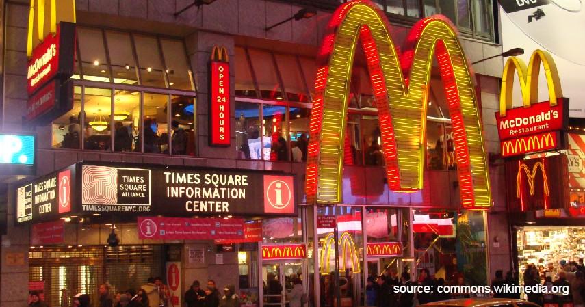 McDonald's di Times Square - 8 Restoran McDonald's Termewah di Dunia