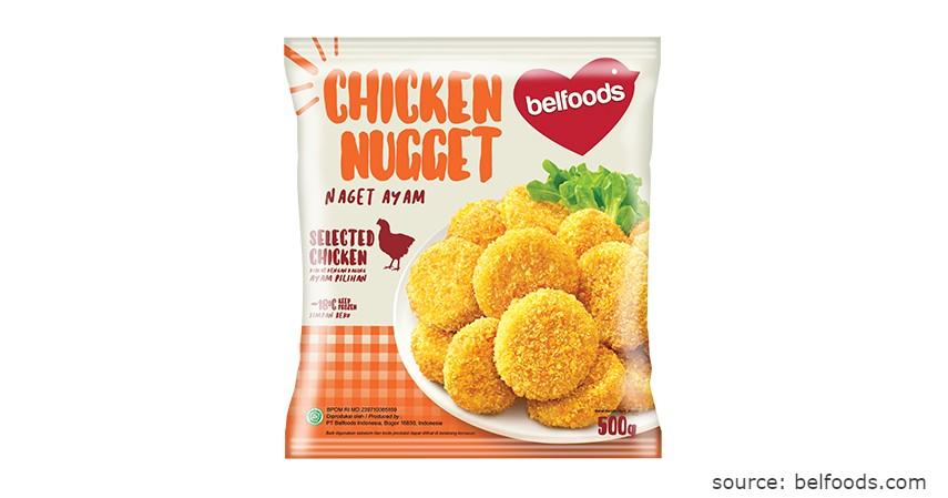 Merk BelFoods - Rekomendasi Chicken Nugget Terbaik beserta Nilai Gizinya