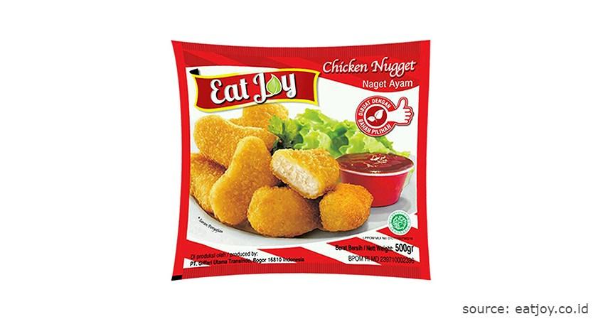 Merk Eat Joy - Rekomendasi Chicken Nugget Terbaik beserta Nilai Gizinya