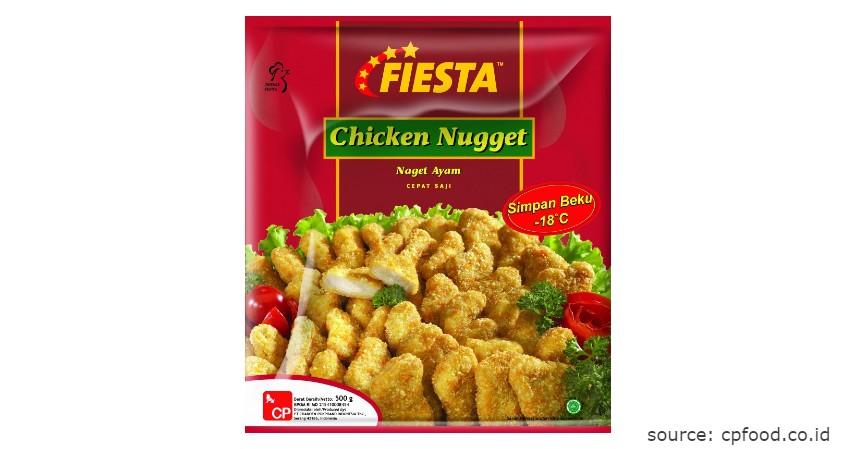 Merk Fiesta - Rekomendasi Chicken Nugget Terbaik beserta Nilai Gizinya