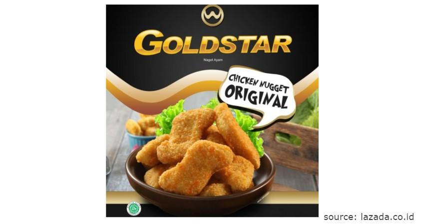 Merk GoldStar - Rekomendasi Chicken Nugget Terbaik beserta Nilai Gizinya