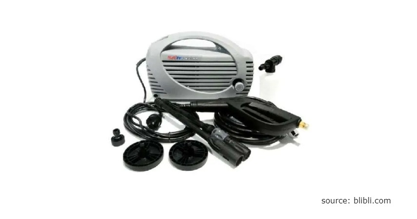 Merk Mesin Steam Terbaik untuk Buka Usaha Cuci Mobil dan Motor - Jet Cleaner Multipro HPD 5006M