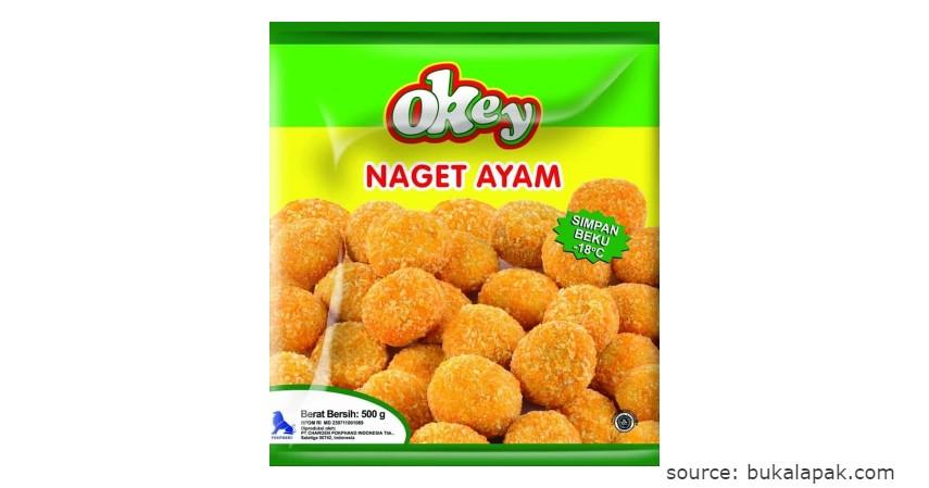Merk Okey - Rekomendasi Chicken Nugget Terbaik beserta Nilai Gizinya