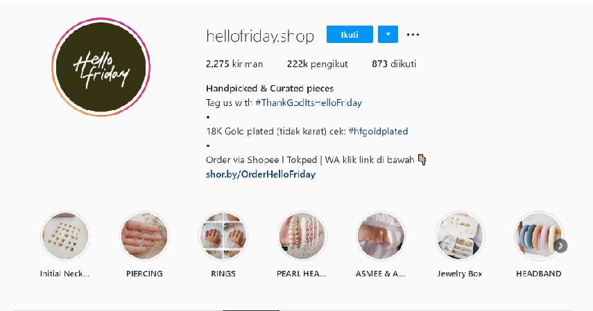Merk Perhiasan Lokal Terbaik di Indonesia - Hello Friday