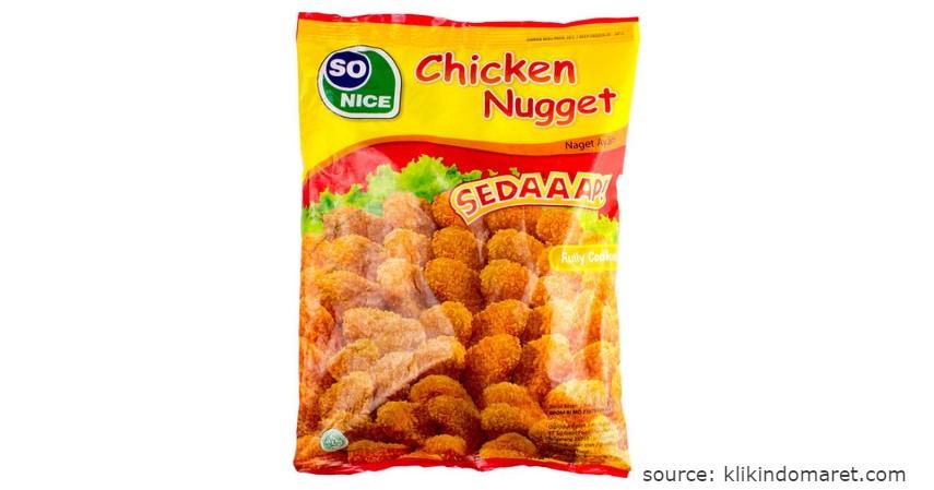 Merk So Nice - Rekomendasi Chicken Nugget Terbaik beserta Nilai Gizinya