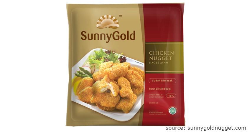 Merk Sunny Gold - Rekomendasi Chicken Nugget Terbaik beserta Nilai Gizinya