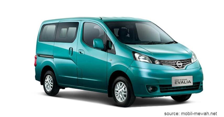 Nissan Evalia - Daftar Mobil Bekas MPV Pintu Geser Terbaik Di Bawah Rp150 Juta