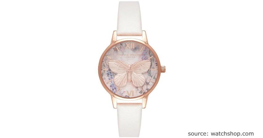Olivia Burton Glasshouse Vegan Blush & Rose Gold Watch - 9 Jam Wanita Anti Air Terbaik
