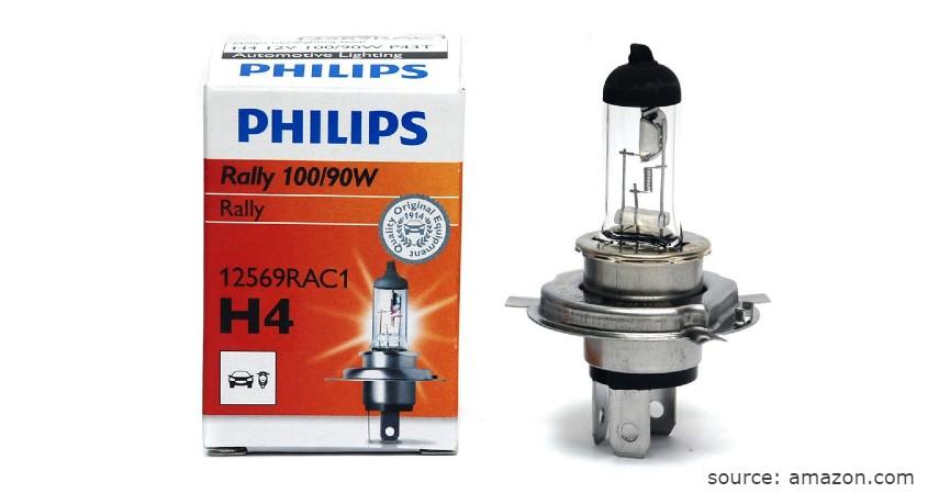 Philips Rally - Merk Lampu Halogen Mobil Terbaik