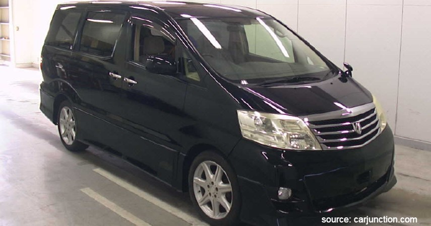 Toyota Alphard - Daftar Mobil Bekas MPV Pintu Geser Terbaik Di Bawah Rp150 Juta