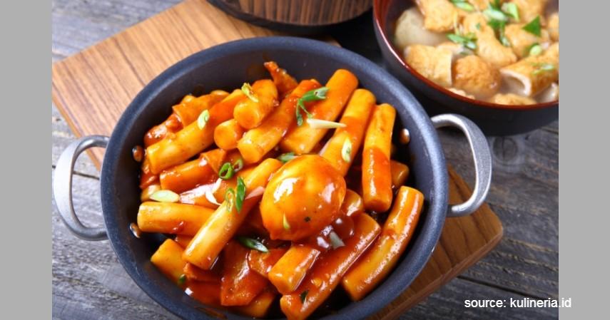 Tteokbokki - Makanan Korea yang Populer di Indonesia
