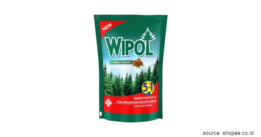 Wipol Karbol Cemara - Rekomendasi Merk Disinfektan Ruangan Terbaik