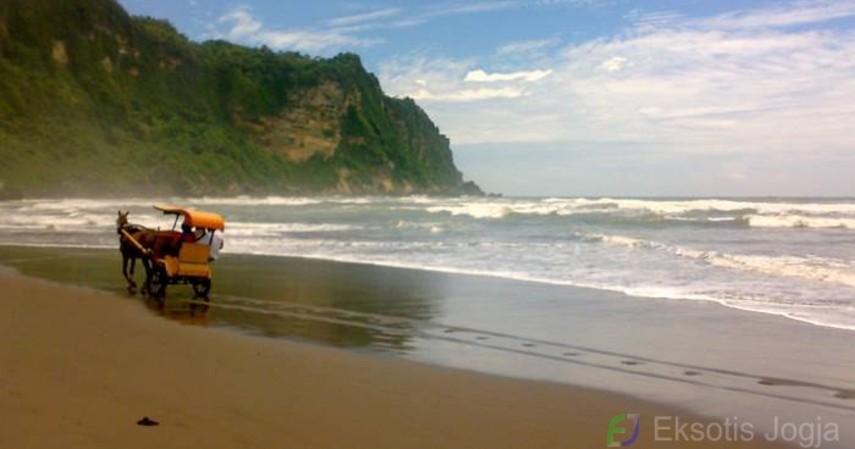 Wisata Indonesia yang Terkenal Memiliki Mitos - Pantai Parangtritis – Yogyakarta